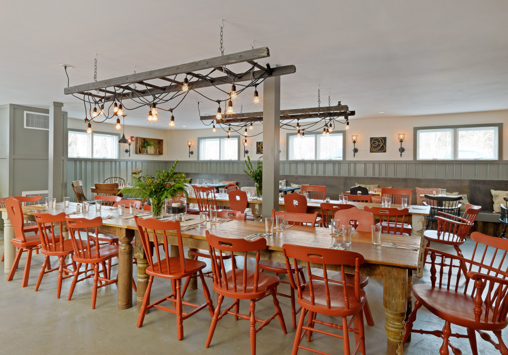 Mad River Barn Restaurant Design by Joanne Palmisano